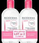 Acheter CREALINE TS H2O Solution micellaire sans parfum nettoyante apaisante 2Fl/500ml à La Teste-de-Buch